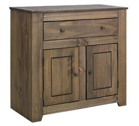Amersham Small Solid Wood Sideboard - Dark Pine