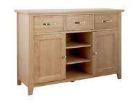 Islington Large Oak Veneer Sideboard