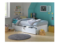 HOME Lloyd Cabin Bed Frame - White
