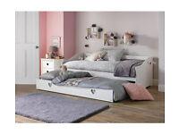 Kids Mia Day Bed - White