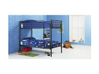 HOME Samuel Shorty Bunk Bed Frame - Black