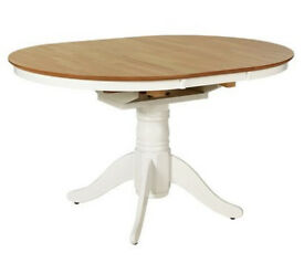 Kentucky Extendable 4 - 6 Seater Table - Two Tone