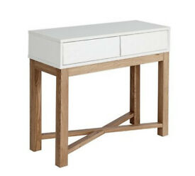 Hygena Zander Console Table - Two Tone