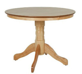 Kentucky Round Solid Wood Dining Table - Natural