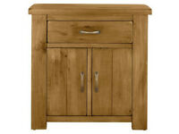 Collection Arizona 2 Door 1 Drawer Solid Pine Sideboard