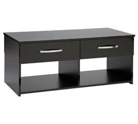 Hygena Hayward 2 Drawer Coffee Table - Black