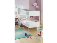 HOME Detachable Single Bunk Bed Frame - White
