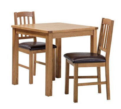 Home Ashwell Oak Veneer Dining Table 2 Chairs In Coventry West