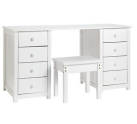 HOME New Scandinavia Dressing Table - White