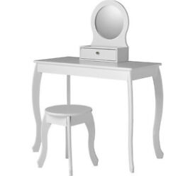 Collection Mia Dressing Table and Stool - White