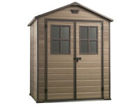 Keter Scala Plastic Garden Shed - 6 x 5ft