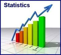 A+ Statistics Assignment and Homework Help - SPSS/STATA/EXCEL