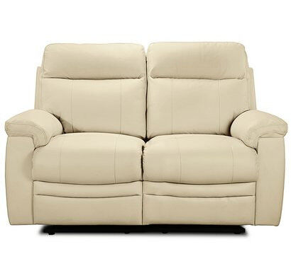 New Paolo 2 Seater Manual Recliner Sofa - Ivory | in Farnley, West ...
