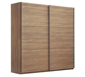 Hygena Bergen Extra Large Sliding Wardrobe - Oak Effect