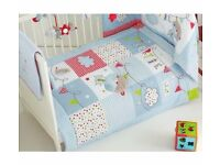 COT BEDDING Brand new never used still in box Bertie Bear bedding for cot/cot bed
