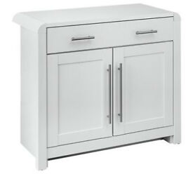 Heart Of House Elford 2 Door 1 Drawer Sideboard - White