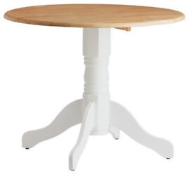 Kentucky Extendable 2 - 4 Seater Table - Two Tone