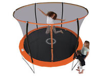 Sportspower 8ft Trampoline with Folding Enclosure