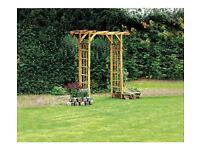 Windermere Wooden Garden Arch