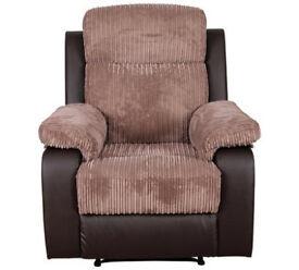 Bradley Riser Recline Fabric Chair - Natural