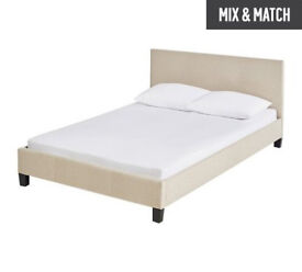 Caterina Small Double Bed Frame - Natural