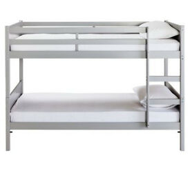 already built up Kids Detachable Bunk Bed Frame - Grey