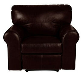 Heart of House Salisbury Leather Recline Chair - Dark Brown