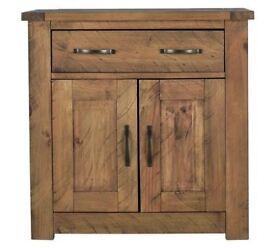 Collection Harvard 2 Door 1 Drawer Solid Pine Sideboard