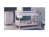 Brooklyn Bunk Bed Frame - White
