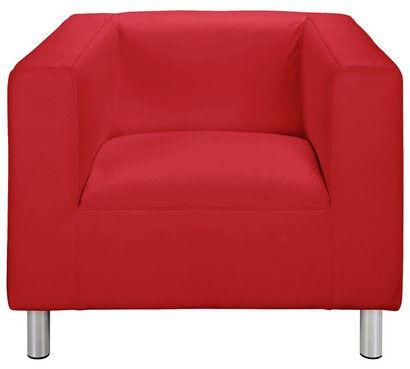 Moda Fabric Chair - Red