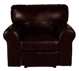Heart of House Salisbury Leather Recline Chair - Dark Brown