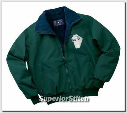 GREAT PYRENEES embroidered challenger jacket ANY COLOR