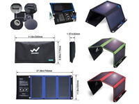 Solar Charger for Portbale Devices, 21W, 5 Year Manufacturers Warranty