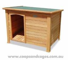 Quality Timber Dog Kennels (Large) 25% OFF w/ Free Shipping!!! Carlton Melbourne City Preview