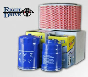 Mitsubishi V46 Pajero 2.8L Filter Pack Air, Fuel and Oil filter