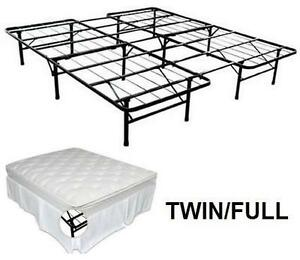 NEW SMARTBASE STEEL BED FRAME TWIN/FULL - STEEL BED FRAME BED BEDROOM HOME FURNITURE 105934271