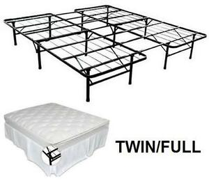 NEW SMARTBASE STEEL BED FRAME TWIN/FULL - STEEL BED FRAME BED BEDROOM HOME FURNITURE 102866347