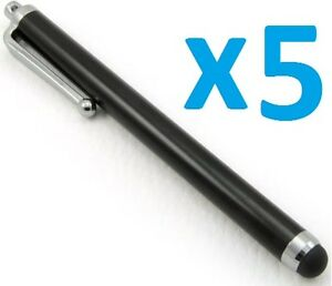 5 x Stylus Pen Touch Stift Eingabe iPhone iPad Samsung Touchscreen Smartphone