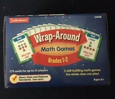Wrap Around Math Games Grades 1-2 (Lakeshore) - 2 Grade Math Games