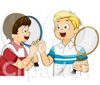 Recherche Tennis partenaires enfants kids partners Intérieur