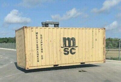 Used 20 Dry Van Steel Storage Container Shipping Cargo Conex Seabox Jacksonvill
