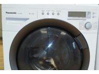8kg Panasonic super silent washing machine, excellent condition, 3 months warranty