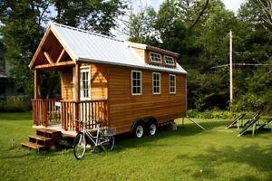 Recherche matériaux de construction pour mini maison