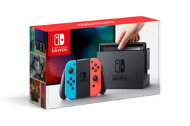 Nintendo Switch Console; The Legend of Zelda Breath Of The Wild game included. Excellent condition.