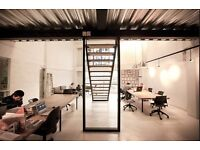 Brand New Art Space / Office available to rent in East London.