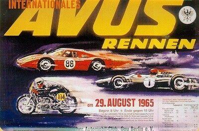 Internationales Avus Rennen 1965