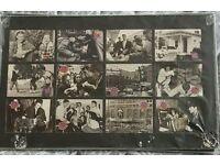 Elvis cards framed