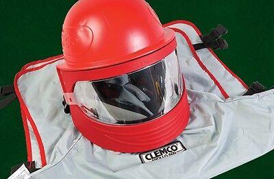 Clemco 25190 Apollo 600 Sandblasting Helmet W Dlx Suspension Cfc Qty 5