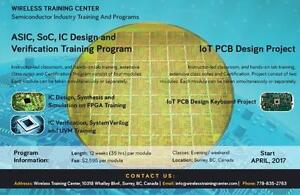 Wireless Training Center | ASIC, SoC, IC Design and IoT PCB Design Training Courses in Vancouver, BC