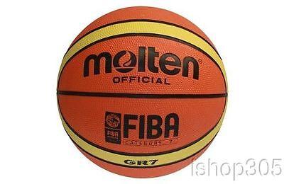 afaa3510fbc Molten GR7 FIBA Approved Rubber Outdoor Basketball Official Size 7 (29.5